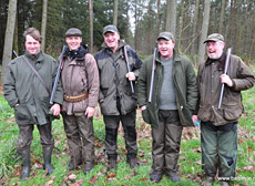 Driven shooting at Balbirnie Home Farms